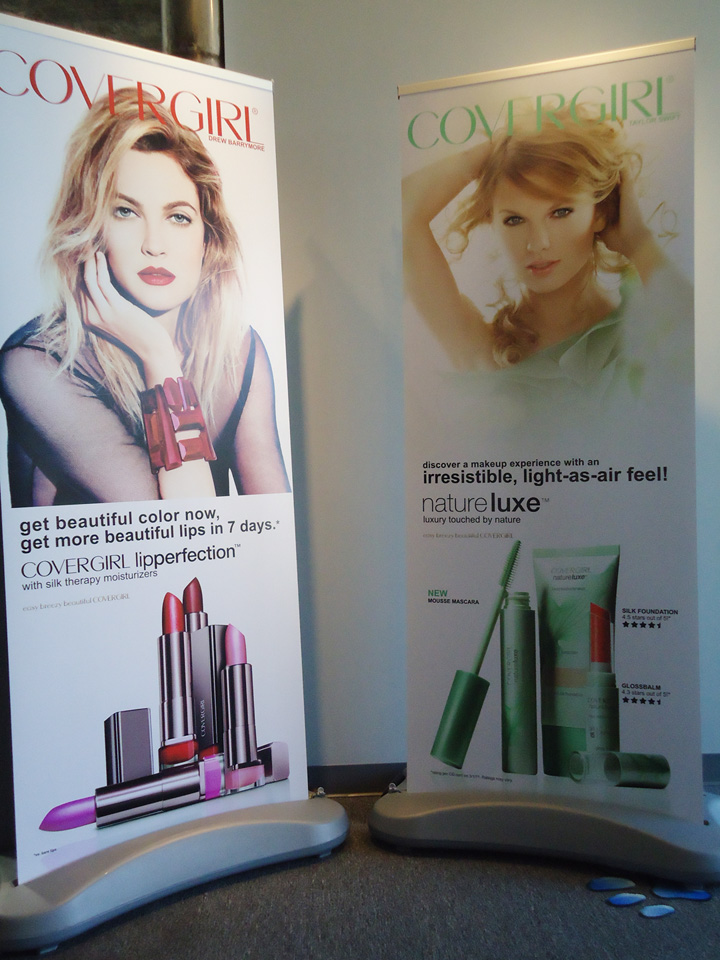 Cover Girl Outdoor Banners