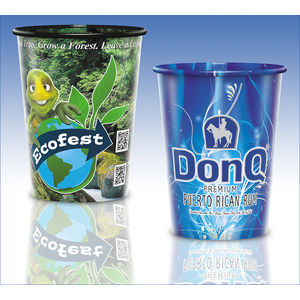 reusable clear plastic cup