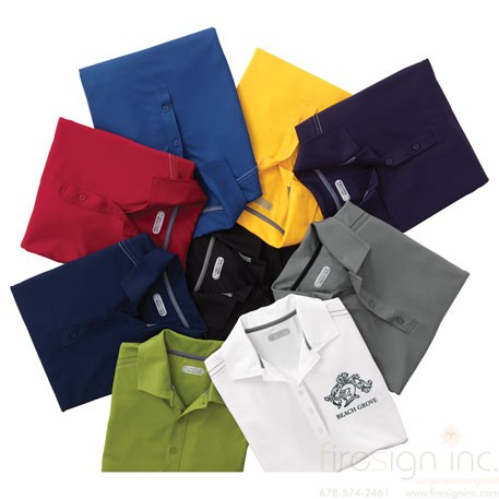 W dunlay short sleeve polo best promotional products for for T shirt printing smyrna ga