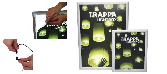 Snap frame light boxes best promotional products for for T shirt printing smyrna ga