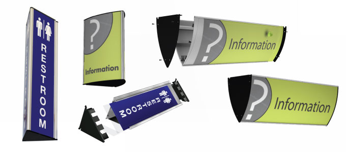Triangular signs best promotional products for your for T shirt printing smyrna ga