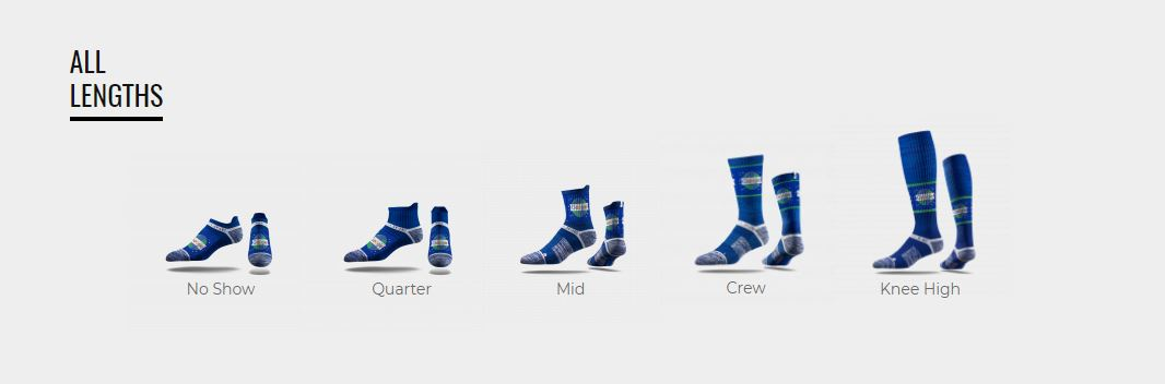 All length socks best promotional products for your for T shirt printing smyrna ga